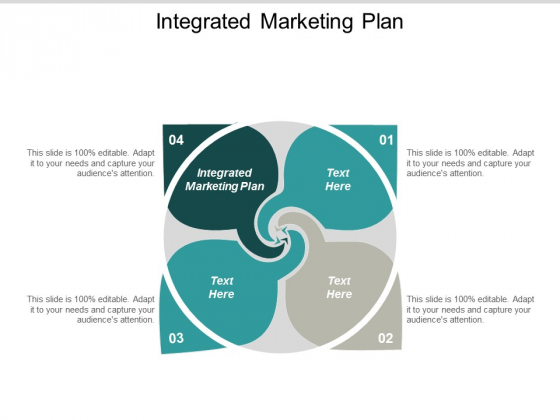 Integrated Marketing Plan Ppt PowerPoint Presentation Layouts Grid Cpb