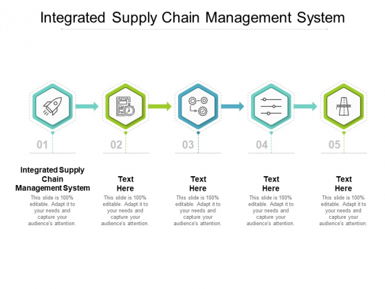 Integrated Supply Chain Management System Ppt PowerPoint Presentation Pictures Template Cpb