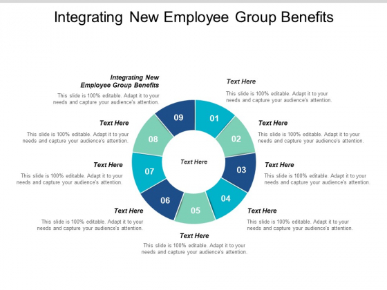 Integrating New Employee Group Benefits Ppt PowerPoint Presentation Infographic Template Clipart Images Cpb