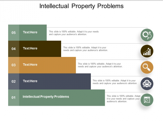 Intellectual Property Problems Ppt PowerPoint Presentation Show Tips Cpb