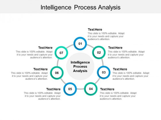 Intelligence Process Analysis Ppt PowerPoint Presentation Gallery Format Cpb