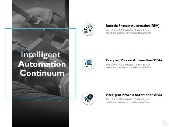 Intelligent Automation Continuum Ppt PowerPoint Presentation Infographic Template Picture