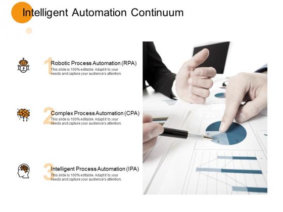 Intelligent Automation Continuum Process Ppt PowerPoint Presentation Inspiration Designs Download