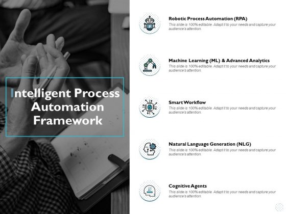 Intelligent Process Automation Framework Ppt PowerPoint Presentation Icon Format Ideas