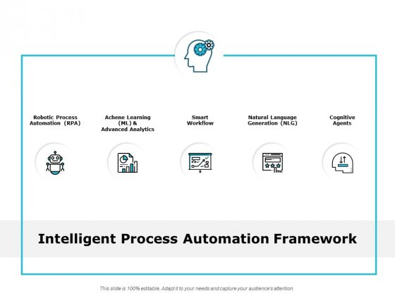 Intelligent Process Automation Framework Ppt PowerPoint Presentation Inspiration Elements