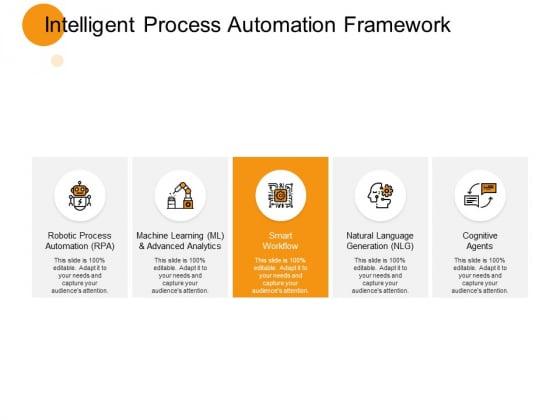 Intelligent Process Automation Framework Ppt PowerPoint Presentation Styles Microsoft