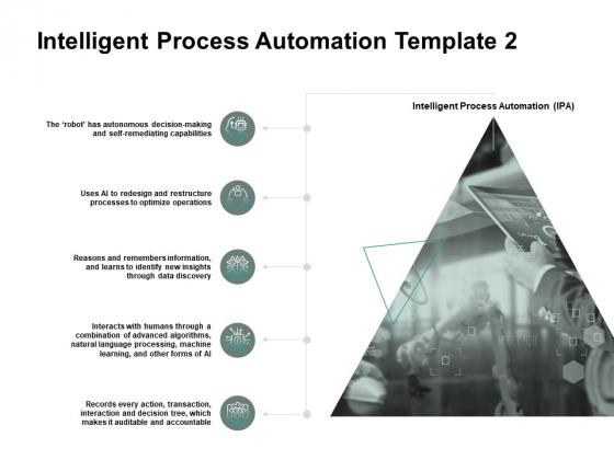 Intelligent Process Automation Management Ppt PowerPoint Presentation Portfolio Professional