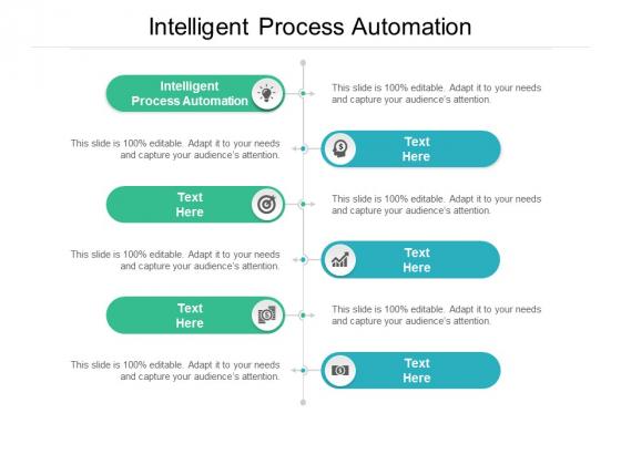 Intelligent Process Automation Ppt PowerPoint Presentation Inspiration Graphics Tutorials Cpb