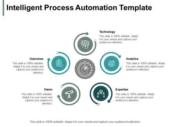 Intelligent Process Automation Technology Ppt PowerPoint Presentation Ideas Elements