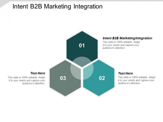 Intent B2B Marketing Integration Ppt PowerPoint Presentation Slide Cpb