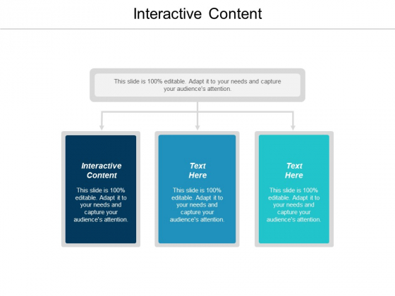 Interactive Content Ppt PowerPoint Presentation Slides Graphics Design Cpb