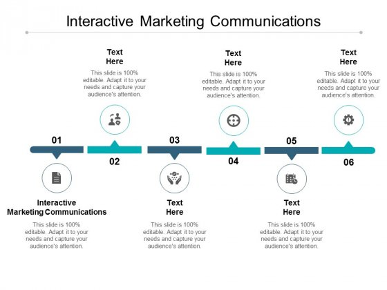 Interactive Marketing Communications Ppt PowerPoint Presentation Gallery Deck Cpb