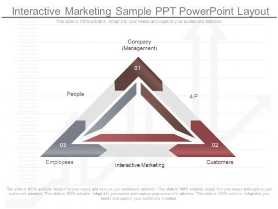 Interactive Marketing Sample Ppt Powerpoint Layout
