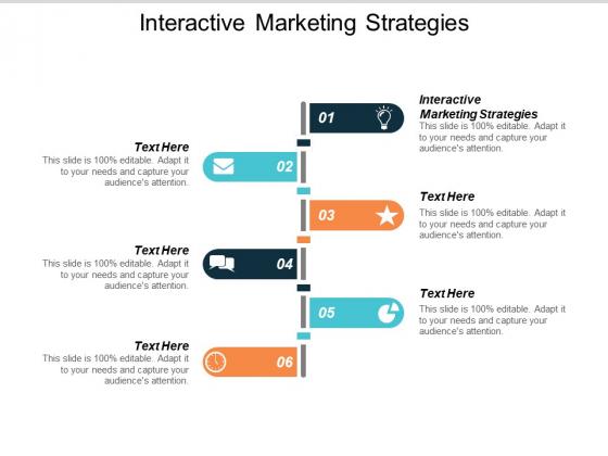 Interactive Marketing Strategies Ppt PowerPoint Presentation Portfolio Vector Cpb