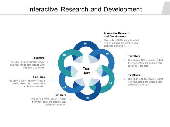 Interactive Research And Development Ppt PowerPoint Presentation Gallery Designs Download Cpb