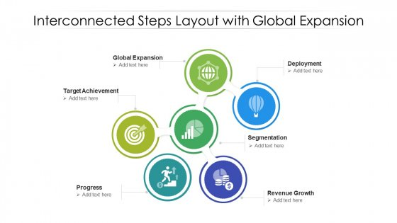 Interconnected Steps Layout With Global Epansion Ppt PowerPoint Presentation Professional Icons PDF