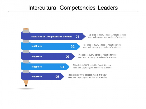 Intercultural Competencies Leaders Ppt PowerPoint Presentation Show Slide Portrait Cpb