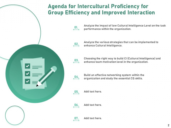 Intercultural_Proficiency_For_Group_Efficiency_And_Improved_Interaction_Ppt_PowerPoint_Presentation_Complete_Deck_With_Slides_Slide_2