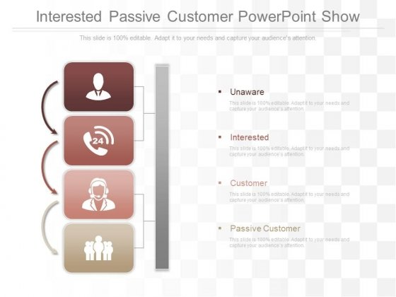 Interested Passive Customer Powerpoint Show