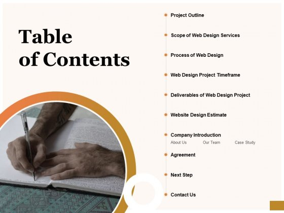 Interface Designing Services Table Of Contents Introduction