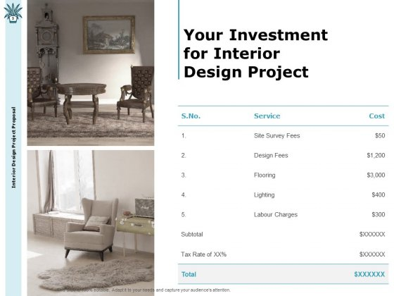 Interior_Fitting_Proposal_Ppt_PowerPoint_Presentation_Complete_Deck_With_Slides_Slide_9