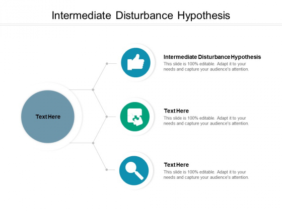 Intermediate Disturbance Hypothesis Ppt PowerPoint Presentation Icon Graphics Cpb
