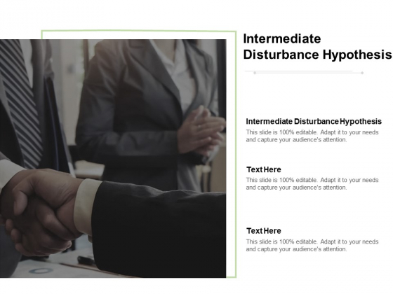 Intermediate Disturbance Hypothesis Ppt PowerPoint Presentation Layouts Brochure Cpb Pdf