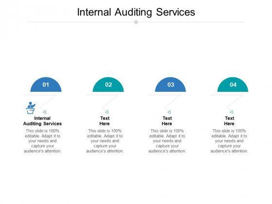 Internal Auditing Services Ppt PowerPoint Presentation Templates Cpb