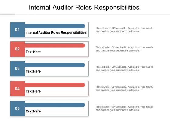 Internal Auditor Roles Responsibilities Ppt PowerPoint Presentation Infographic Template Picture Cpb