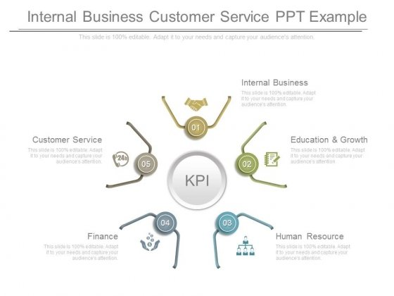 Internal Business Customer Service Ppt Example