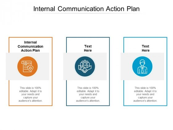 Internal Communication Action Plan Ppt PowerPoint Presentation Gallery Rules Cpb