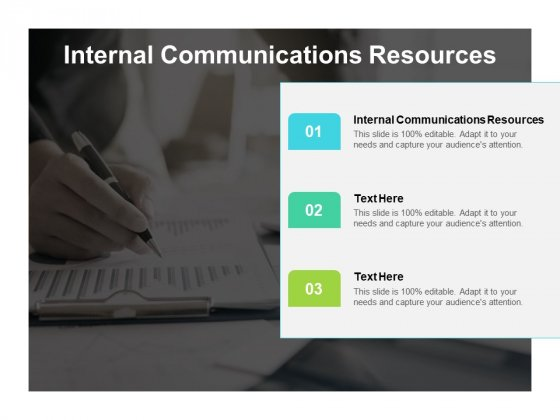 Internal Communications Resources Ppt PowerPoint Presentation Introduction Cpb