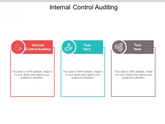 Internal Control Auditing Ppt PowerPoint Presentation Gallery Backgrounds Cpb