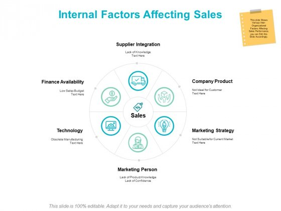 Internal Factors Affecting Sales Ppt PowerPoint Presentation Infographics Rules