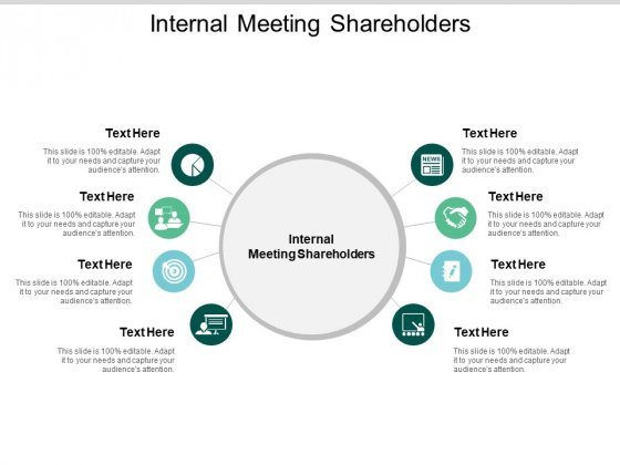 Internal Meeting Shareholders Ppt PowerPoint Presentation Professional Infographic Template Cpb