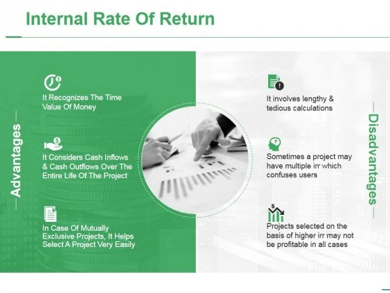 Internal Rate Of Return Ppt PowerPoint Presentation File Elements