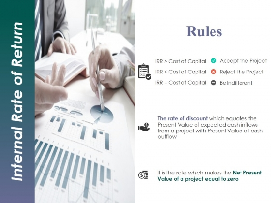 Internal Rate Of Return Template 1 Ppt PowerPoint Presentation Inspiration Skills