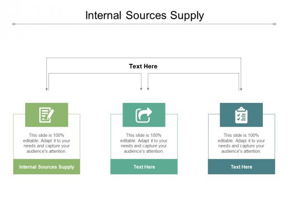 Internal Sources Supply Ppt PowerPoint Presentation Summary Guide Cpb