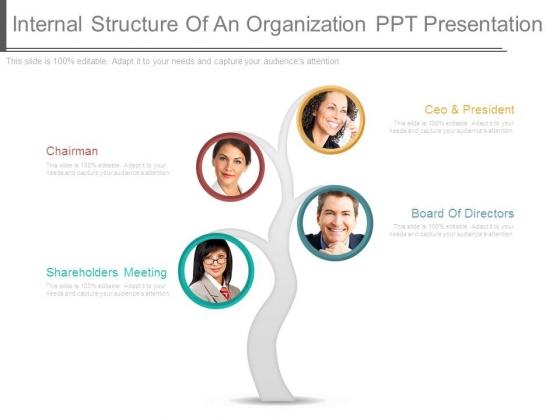 Internal Structure Of An Organization Ppt Presentation
