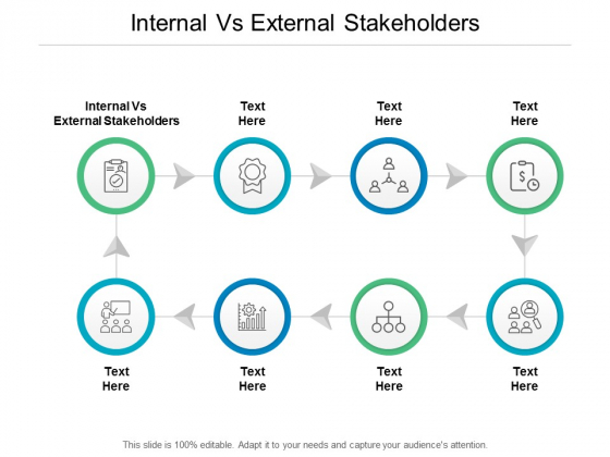 Internal Vs External Stakeholders Ppt PowerPoint Presentation Summary Tips Cpb