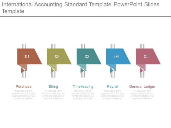 International Accounting Standard Template Powerpoint Slides Template
