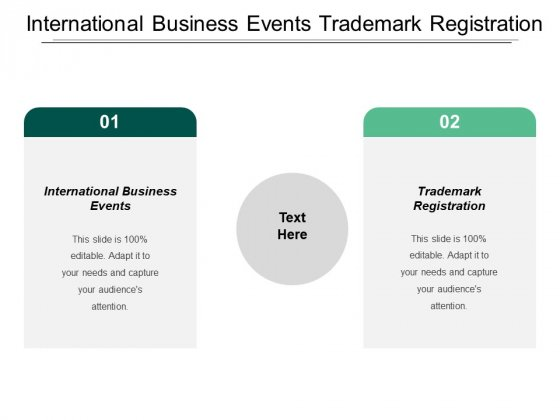 International Business Events Trademark Registration Entrepreneurship Ppt PowerPoint Presentation Portfolio Backgrounds