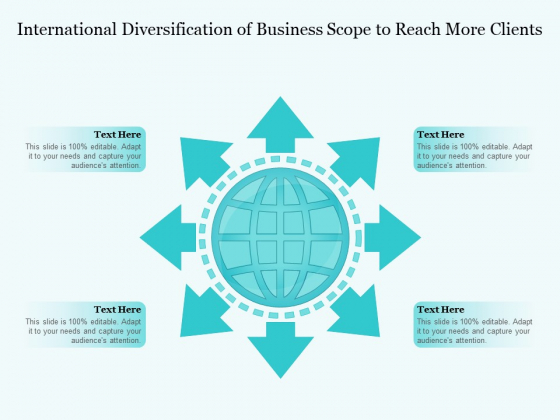 International Diversification Of Business Scope To Reach More Clients Ppt PowerPoint Presentation File Images PDF