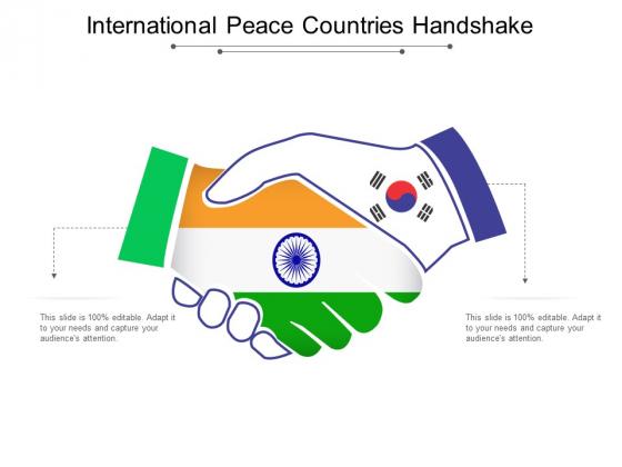 International Peace Countries Handshake Ppt PowerPoint Presentation Inspiration Template