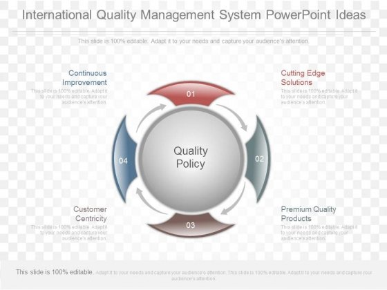 International Quality Management System Powerpoint Ideas