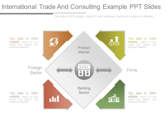 International Trade And Consulting Example Ppt Slides