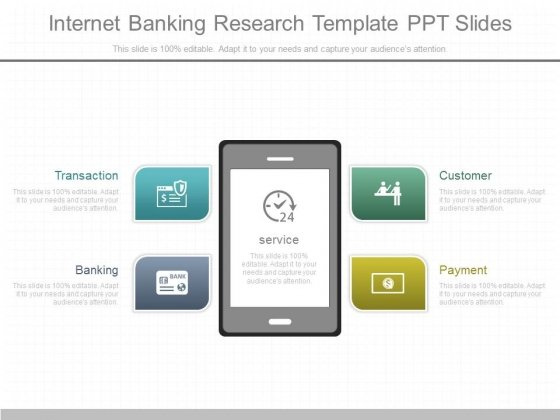 Internet Banking Research Template Ppt Slides