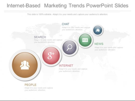 Internet Based Marketing Trends Powerpoint Slides