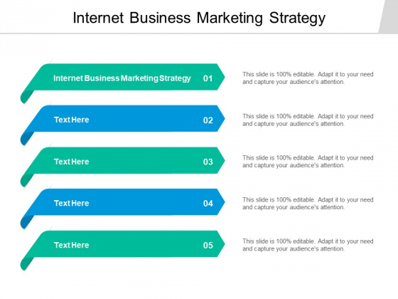 Internet Business Marketing Strategy Ppt PowerPoint Presentation Outline Files Cpb