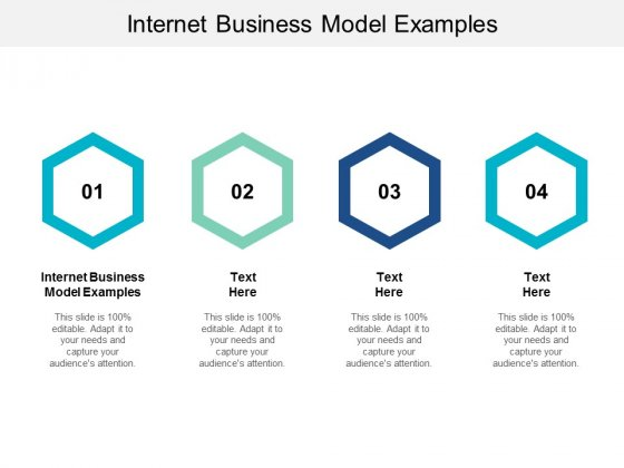 Internet Business Model Examples Ppt PowerPoint Presentation Portfolio Shapes Cpb